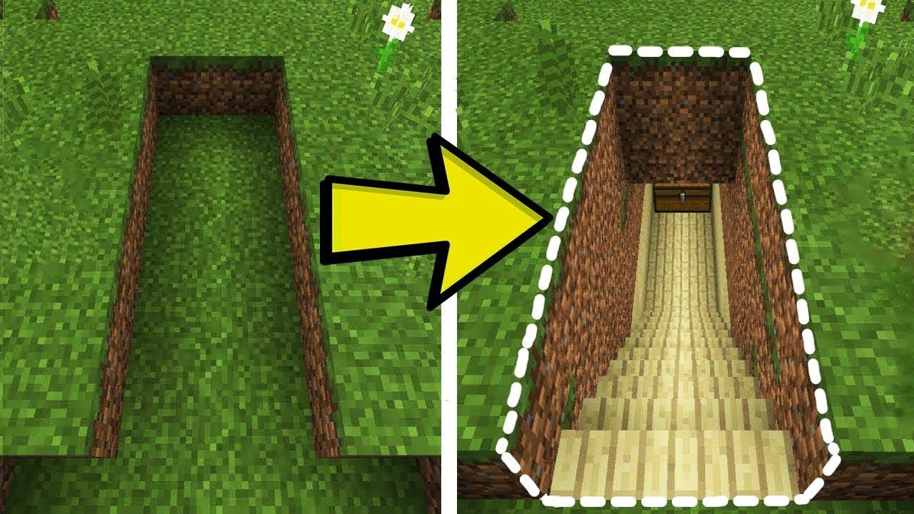 Come creare una stanza segreta per tesori sotterranei su for Creare una stanza