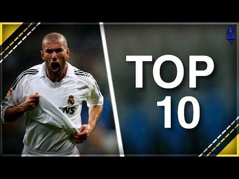ZINEDINE ZIDANE TOP 10 NAJPIĘKNIEJSZYCH BRAMEK W KARIERZE