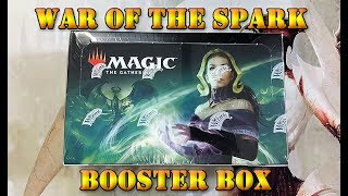 War of the Spark Booster Box MTG