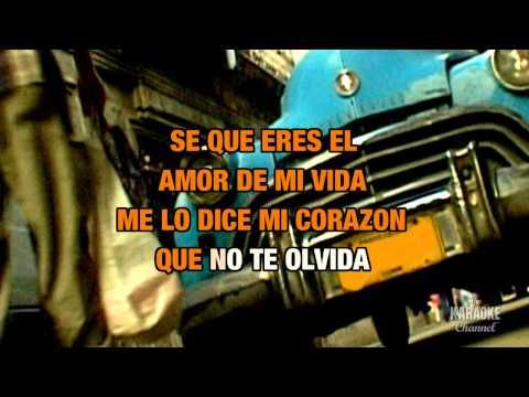 "El Amor De Mi Vida in the Style of ""Ricky Martin"" with lyrics (no lead vocal)"