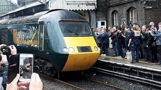 Farewell to HST's out of London Paddington 18th May 2019