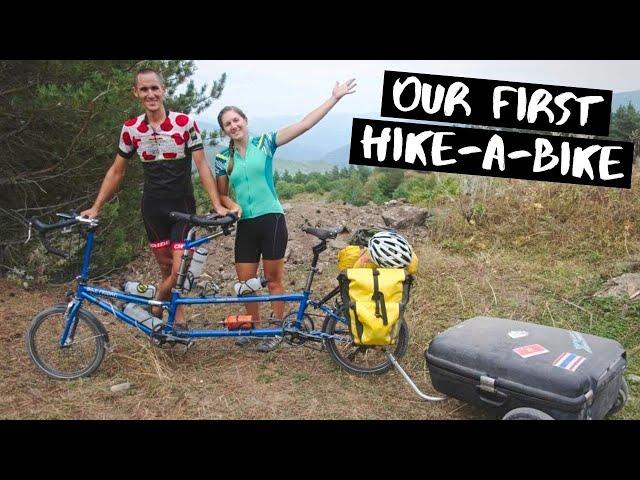 GEORGIA Bike Tour: Beautiful Scenery, Broken Bike, & Rough Roads Cycling from Lagodehki to Turkey