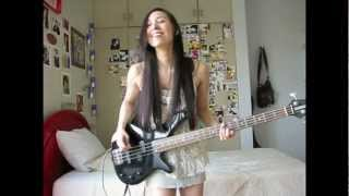 "The Dandy Warhols - ""Bohemian Like You"" (BASS COVER)"