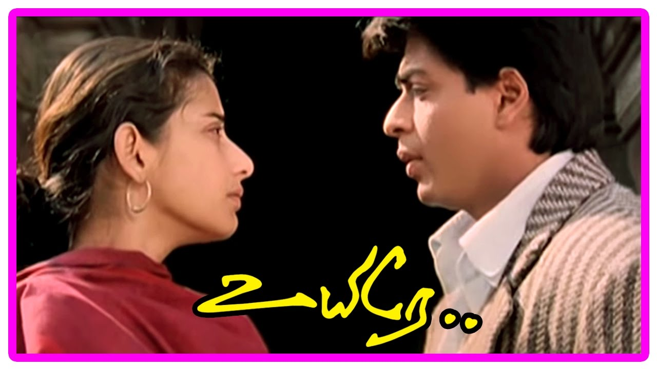 Download Uyire Tamil Movie Scenes   Manisha reveals her identity   Shah Rukh tries to convince Manisha
