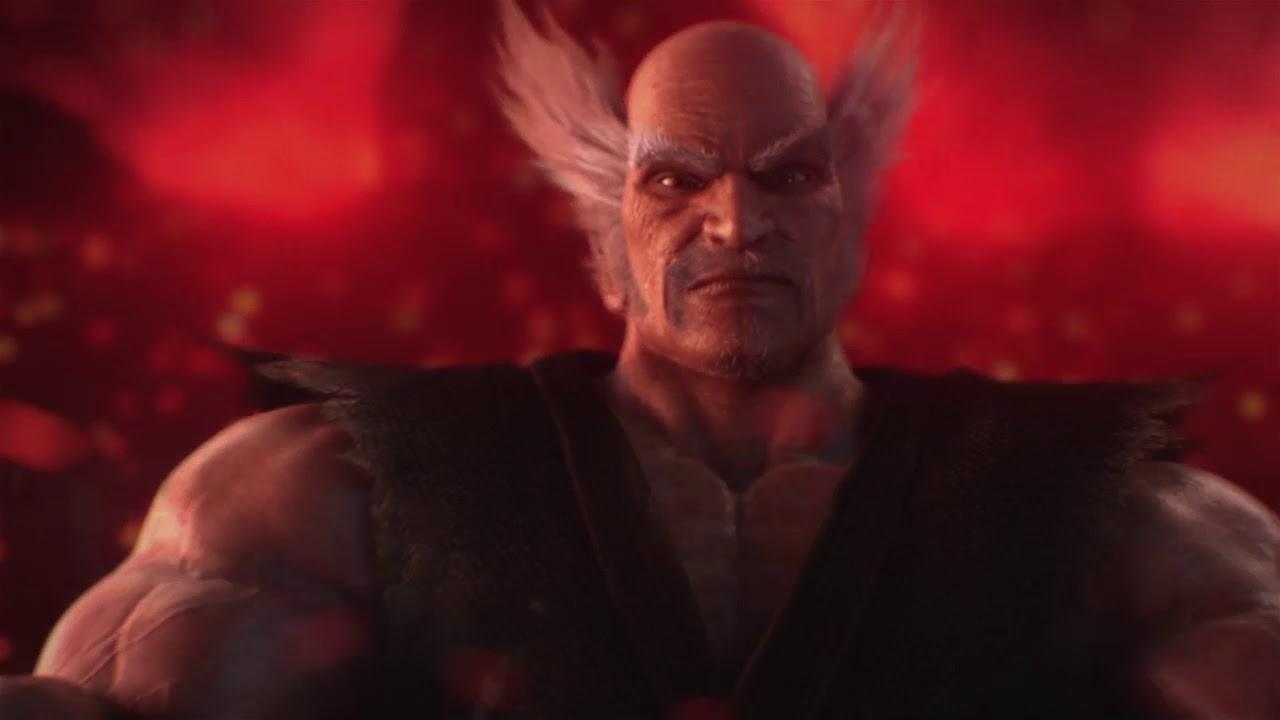 Heihachi Mishima Vs Kazuya Mishima Tekken 7 Story Mode Youtube