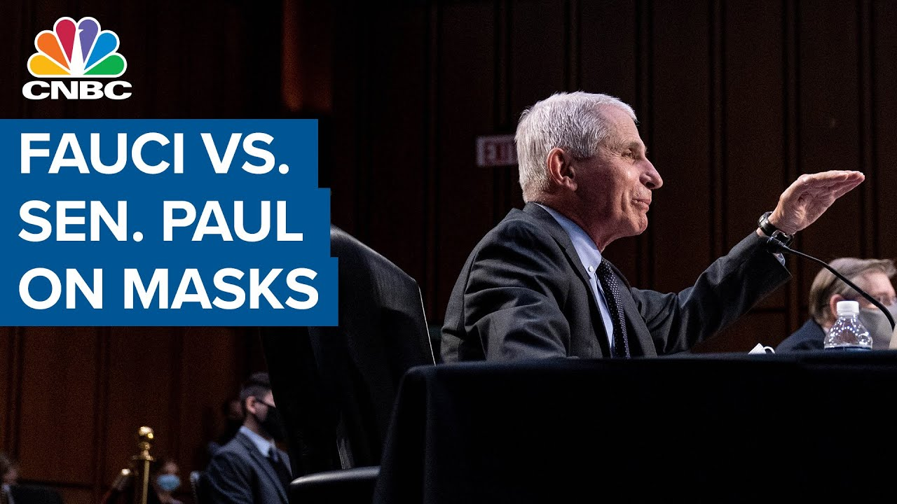 Dr. Anthony Fauci and Sen. Rand Paul get in fiery exchange over masks