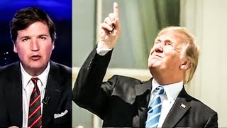 "Tucker Carlson Says Trump Looking At Eclipse Without Glasses Was ""Impressive"""