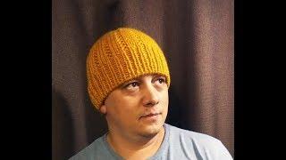Мужская шапка Dijon. Небольшой МК