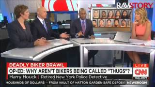 CNN panel discusses why white bikers aren
