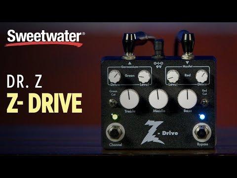 Dr. Z Z-Drive Pedal Demo