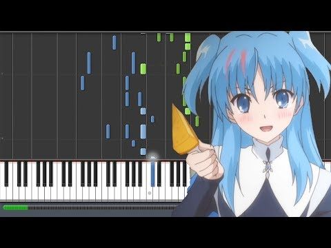 Dearest Drop - SukaSuka Opening (Piano Synthesia)