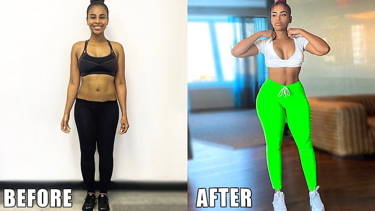 Best Workouts To Get Wider Looking Hips Grow Side Butt Youtube