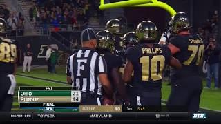 Ohio at Purdue - Football Highlights