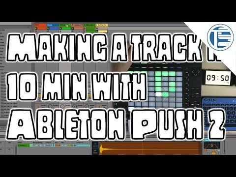 Ableton Push 2 | Making A Track In 10 Min Using Ableton Live Plugins Only | #Beatmaking #Push2