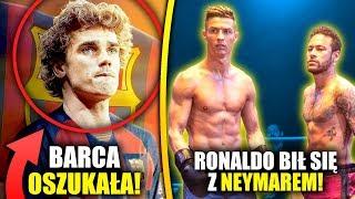 Atletico Madryt POZWIE FC Barcelone! Transfer Griezmanna OSZUKANY! Ronaldo zmierzył się z Neymaram!