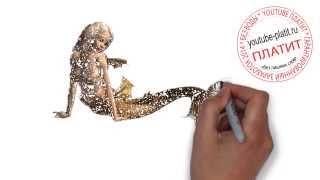 Как научиться правильно рисовать русалок карандашом  Как легко нарисовать красивую русалку для начин(как нарисовать русалку, как нарисовать русалку поэтапно, как нарисовать русалку карандашом, как нарисовать..., 2014-07-30T06:51:57.000Z)