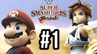 Super Smash Bros Brawl Walkthrough Part 1 - The Midair Stadium (Subspace Emissary Let