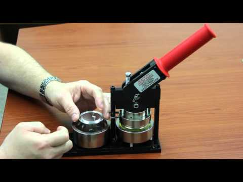 How to Make a Button with the Tecre Button Maker Machine