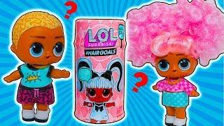 Куклы ЛОЛ Сюрприз Hairgoals MAKEOVER! Мальчик СКРИББЛ как НЯНЯ! ТРАНСФОРМАЦИЯ Мультик LOL Surprise