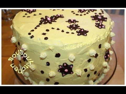 Recette De Gateau D 39 Anniversaire Au Citron Lemon Birthday Cake Sousoukitchen Youtube
