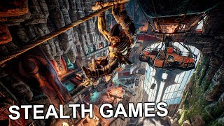 TOP 10 BEST STEĄLTH Games To Play in 2021 | PC, PS4, PS5, Xbox One, Xbox Series X/S, Stadia, Switch