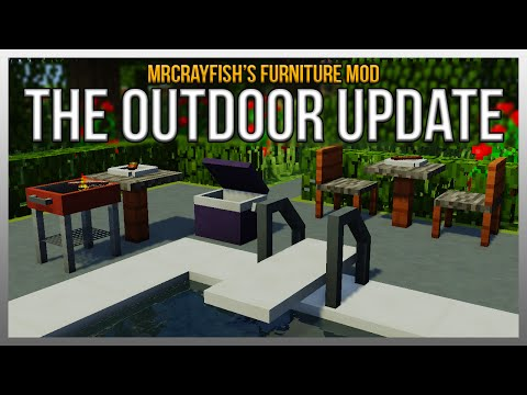 Mrcrayfish S Furniture Mod The Outdoor Update Updated 05 09