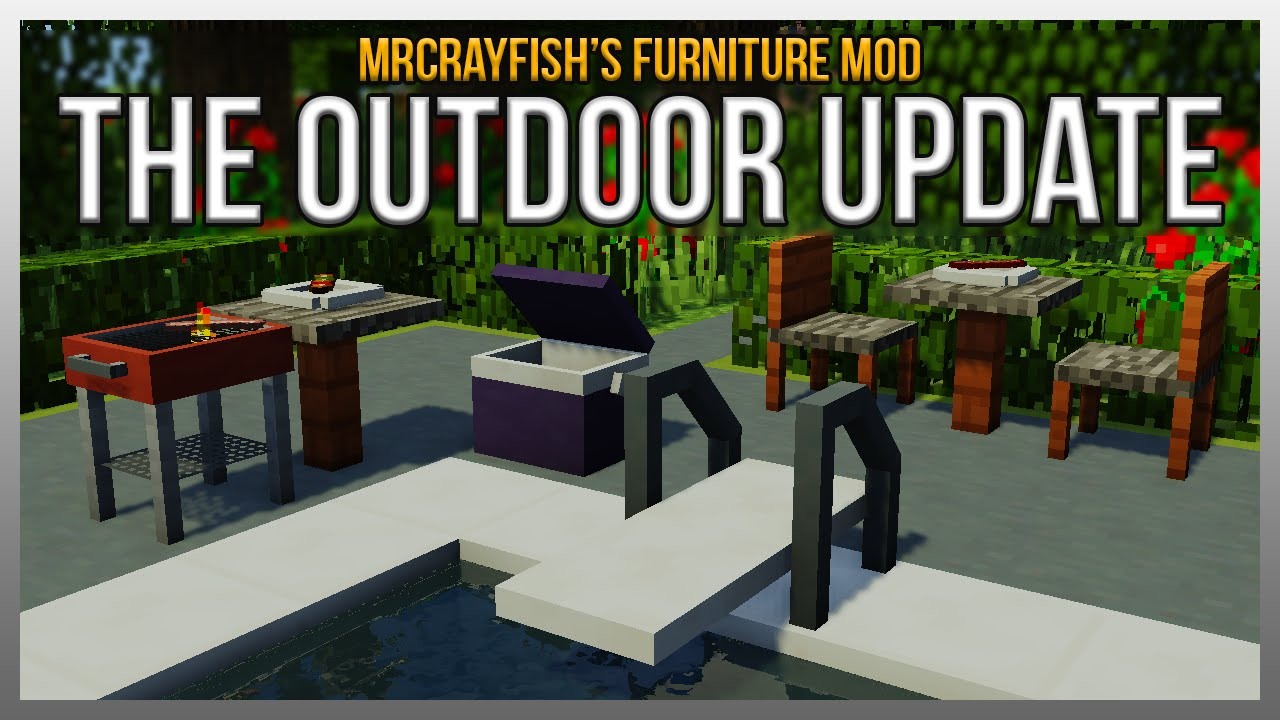 MrCrayfish s Furniture Mod The Outdoor Update Showcase