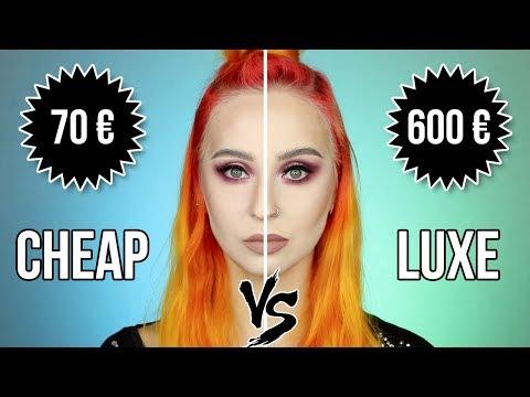 Cheap VS Luxe Makeup | Comparaison de A à Z !