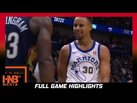 Golden State Warriors vs New Orleans Pelicans Full Game Highlights / Week 1 / 2017 NBA Season