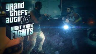GTA 4 / Street Fights / Gameplay PC / 1080p 60fps HD