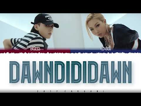 DAWN - 'DAWNDIDIDAWN' (Feat. Jessi) Lyrics [Color Coded_Han_Rom_Eng]