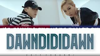 DAWN -   39 DAWNDiDiDAWN  39   Feat  Jessi  s  Color Coded Han Rom Eng  Resimi