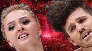 Александра Степанова и Иван Букин воплощение красоты на льду