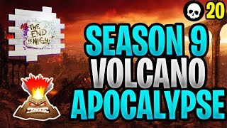 Fortnite Season 9 - The Volcano Apocalypse Theory! (Season 9 Map + Battle Pass Theories)