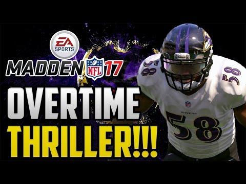 Madden 17 Baltimore Ravens Franchise Mode: Overtime Thriller! Ep 11 PS4