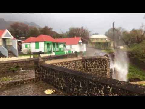 Orkaan Irma op Sint-Eustatius