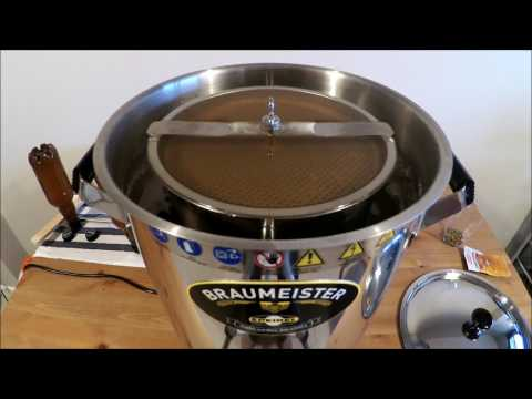 Speidels Braumeister 10L - Brewing day for a Weizen Beer