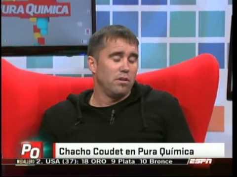 El Chacho Coudet en Pura Quimica (02-08-2012)