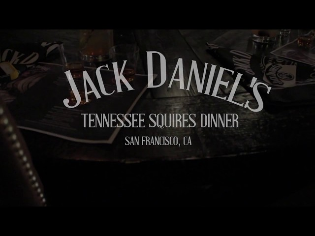 Jack Daniels Tennessee Squires Dinner