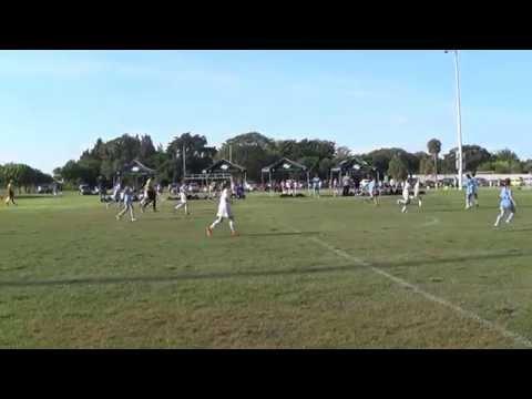 Wave vs Weston U12 Premier Green -  Miami Select Cup Semi Final 5-4-14