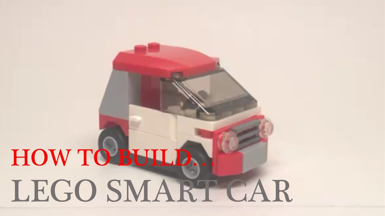 How To Buid A Lego Smart Car Mmm 4