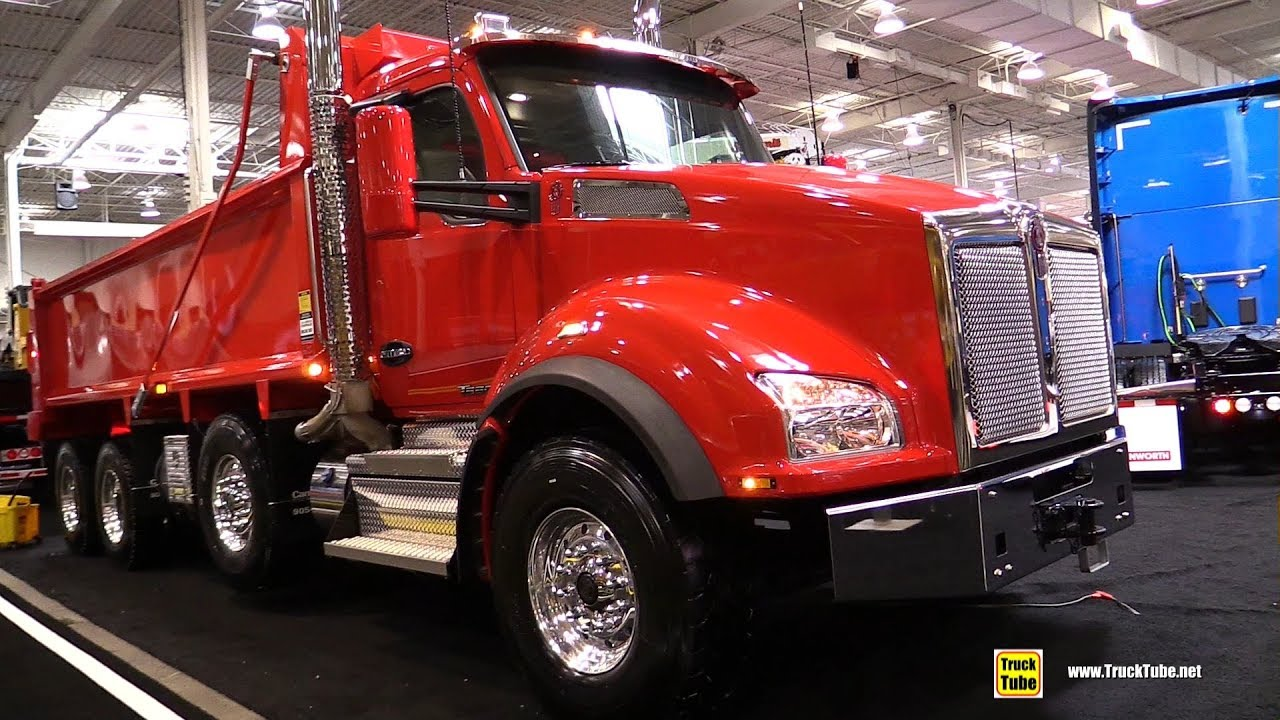 2018 Kenworth T880 Dump Truck with MX13 engine - Exterior ...Kenworth Dump Trucks