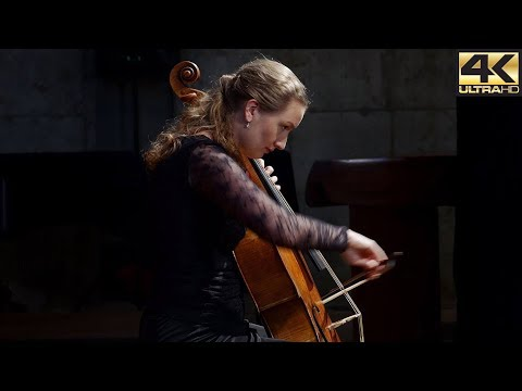 Bach - Cello Suite No. 2 In D Minor BWV 1008, Complete; Eva Lymenstull  | Voices Of Music 4K