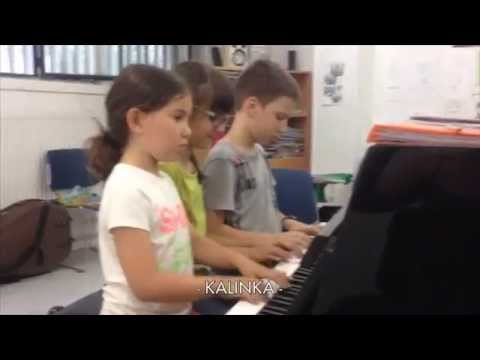 KALINKA for piano group from PIANISSIMO (ed. Boileau) by Imma Jorba