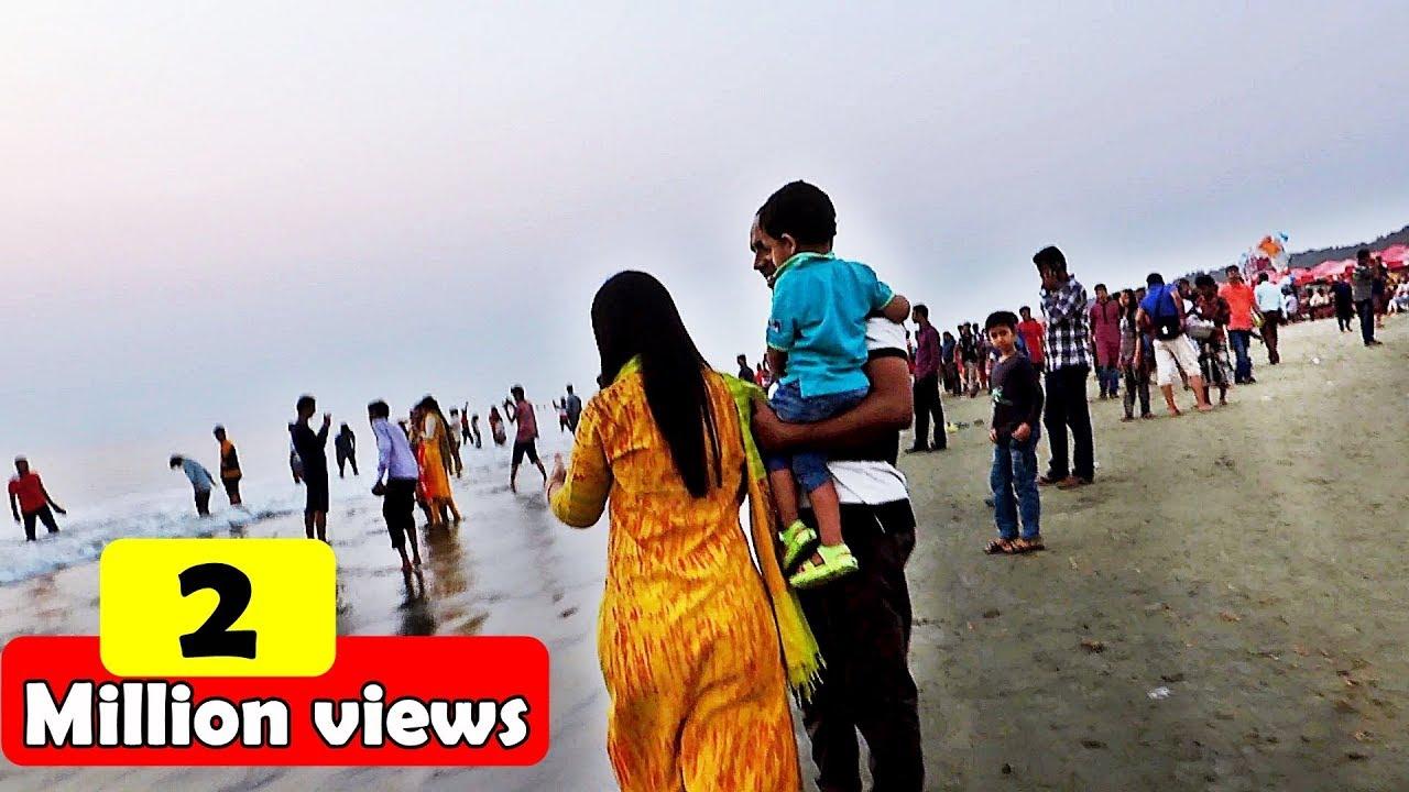 cox s bazar sea beach walk