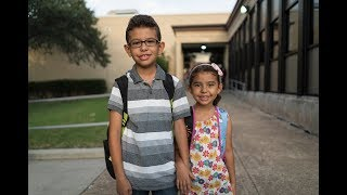 Back to school with Jori and Majed, Syrian refugees in America