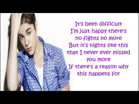 Justin Bieber Roller Coaster Lyrics HD