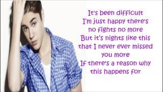 Justin Bieber Roller Coaster Lyrics HD