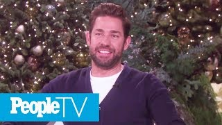 John Krasinski Says He Cried 'So Much' Watching Wife Emily Blunt In Mary Poppins Returns | PeopleTV