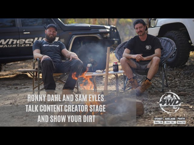 Content Creator Stage and Show Your Dirt Show & Shine coming to the Australian 4WD Adventure Shows